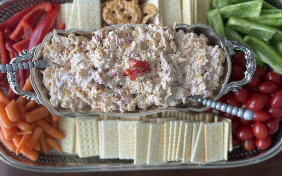 Pimento Cheese Charcuterie Board